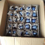 Christbaumkugeln Weihnachtsbaumschmuck blau