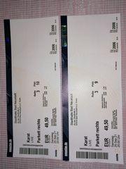 Eintrittskarten für KARAT am 25