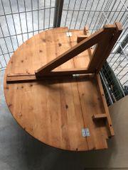 Holztisch für die Wand