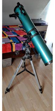 Telescope Equatrial Reflektor D 114mm