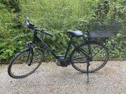 Verkaufe von privat gebrauchtes E-City-Bike