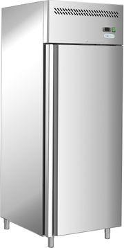 Kühl - Tiefkühlschrank aus Edelstahl Umluft