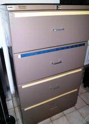 RBB - Stahl Büro-Hängeregistratur Schrank Bürocontainer