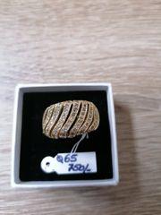750 GOLD DAMENRING