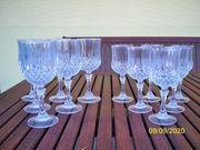 Verkaufe 6 Stück Bleikristall Gläser