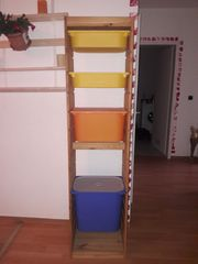Ikea Trofast Regal mit Kisten