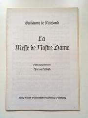 Guillaume de Machault La Messe