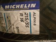 4 neue Winterreifen Michelin Alpin6