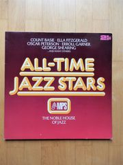 All-Time Jazz Stars - Basie Fitzgerald