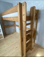 Hochbett Stockholm aus Holz - 200