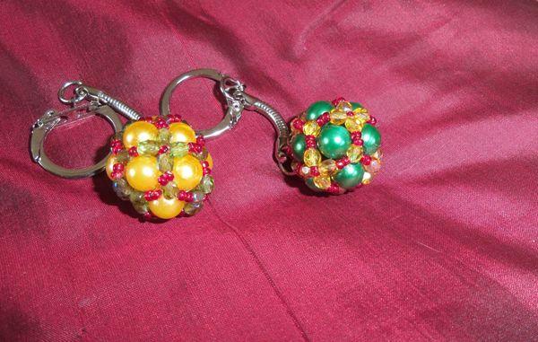Perlen Schlüsselanhänger pro Stück 17