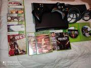Xbox 360 Konsole drücker spiele