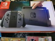 Nintendo Switch Joy-Con Spielkonsole - Grau