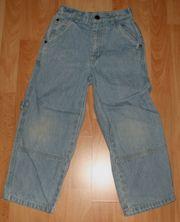 Blaue Jeans-Hose - Größe 116 - moderner Stil