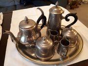 Set an alten Kaffee- Tee-