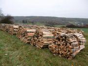 Brennholz trockenes Buchen und Eichenholz