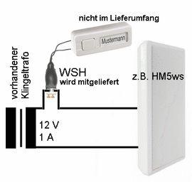 Alles Mögliche, gewerblich - Exclusive batterielose 1000-Melodien-mp3-Klingel Melodieklingel Melodiegong
