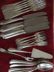 Silberbesteck für 6 Personen