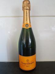 Champagner Veuve clicquot 0 7l