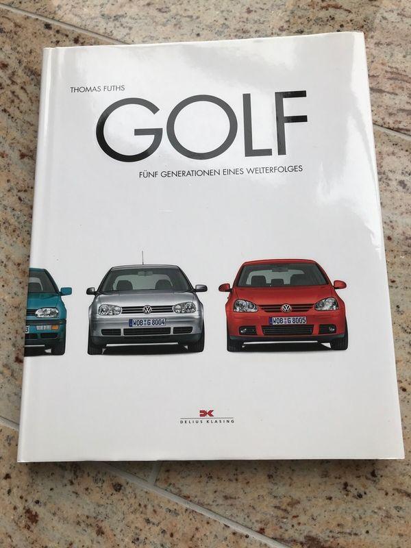 Buch VW Golf 5 Generationen