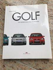 Buch VW Golf 5 Generationen