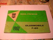 Oldsmobile F-85 Bedienungsanleitung