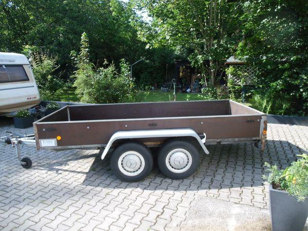 Kfz-Anhänger 2500kg TÜV neu auch