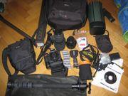 Nikon D300 Objektive 18-200mm und
