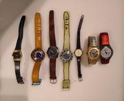 7 Uhren Swatch Benetton Charles