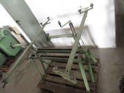 Bandsäge Böcke für Schärfmaschine