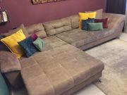 Couch Altlederoptik