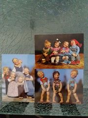 Postkarten Puppenmotive