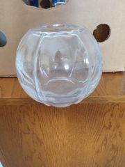 Vase Kugel Glas