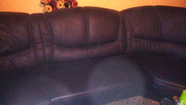 Couch Leder Designer Stück von