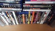 Etwa 100 Blueray und DVD