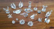 Konvolut Kristall Bleikristall Glas Figuren
