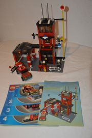 Lego City 7240 Feuerwehr Hauptquartier
