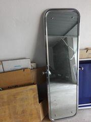 Ankleidespiegel Standspiegel silber 150 cm