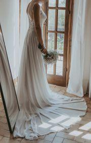 Romantisches Brautkleid für petite Frauen