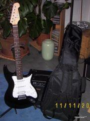 Verkaufe hier eine E-Gitarre für