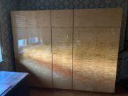 Kleiderschrank groß - Holz - 5-Türig - abschließbar -
