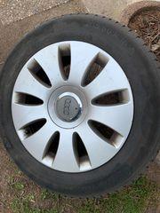 4x Audi Kompletträder Alu-Felge Winterreifen