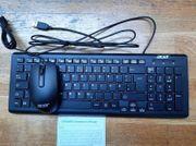 Acer Tastatur mit Maus