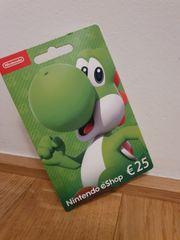 Guthaben Nintendo eShop