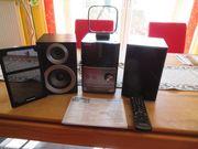 Panasonic CD-Stereoanlage wenig benutzt