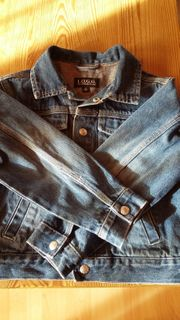 Jungen - Jeansjacke blau Gr 116