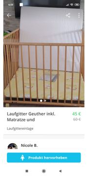Laufgitter Geuther