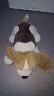 Kuscheltiere Hund und Bär