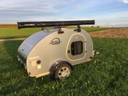 Mini-Caravan Teardrop Mini-Camper Steeldrop Tiny