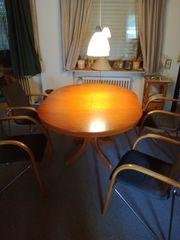 Esszimmertisch Kirschbaum mit 4 Stühlen